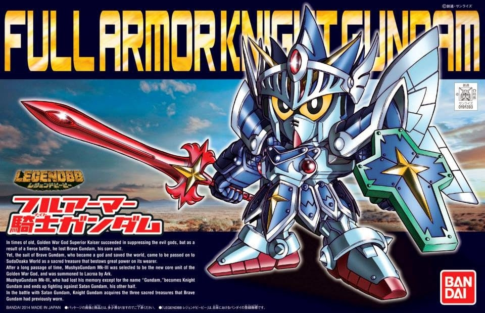 SD Full Armor Knight Gundam เบอร์393