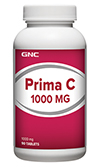GNC Prima C™ 1000 พรีมา ซี 1000 90 Tablets Code: 133267 เลขทะเบียน อย. 2C 57/51