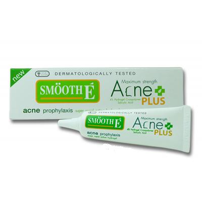Smooth E Acne Hydrogel PLUS 10 gm (เจลแต้มสิว ใหม่)