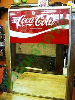 ป้ายกระจก coca-cola