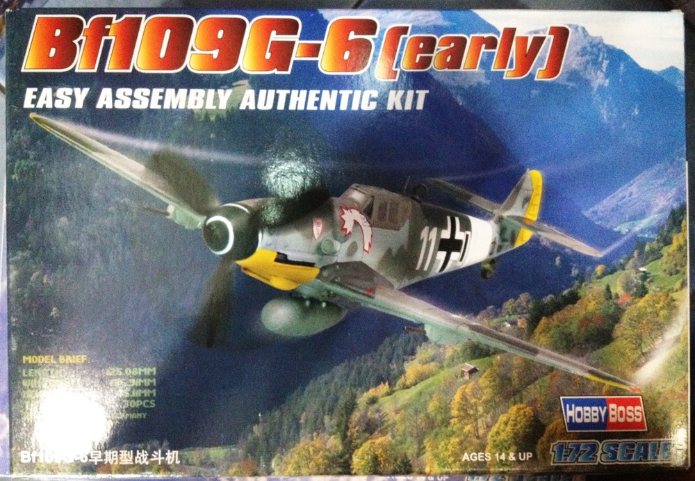 1/72Bf109G-6(early)