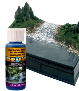 SP4195 Blue Realistic Water ( ขนาดเล็ก )