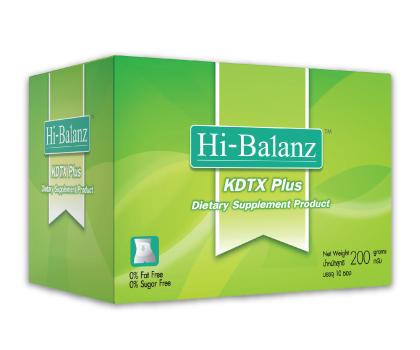 ดีท็อกซ์ ด้วย Hi-Balanz KDTX Plus 5 ซอง (กล่องเล็ก) ซื้อ2กล่องส่งฟรีEMS