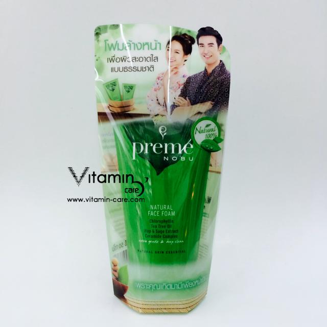 Preme Nobu Natural Facial Foam 30g.