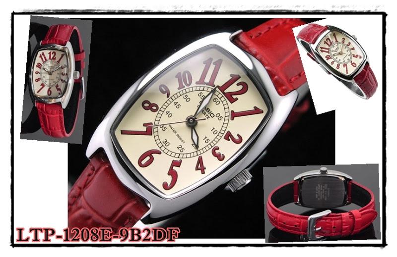 นาฬิกาข้อมือ คาสิโอ Casio Standard รุ่น LTP-1208E-9B2DF