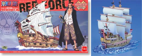 Red Force Ship One Piece
