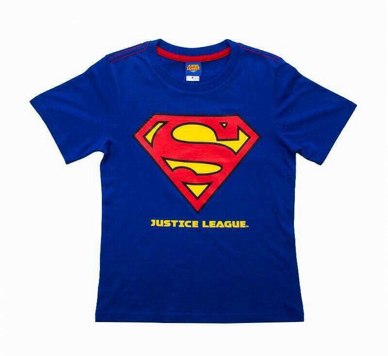 Superman - (งานลิขสิทธิ์) เสื้อยืดซุปเปอร์แมน ใส่สบาย ลำลองๆ ได้ทุกวัน ราคาเบาๆ ค่ะ size 8