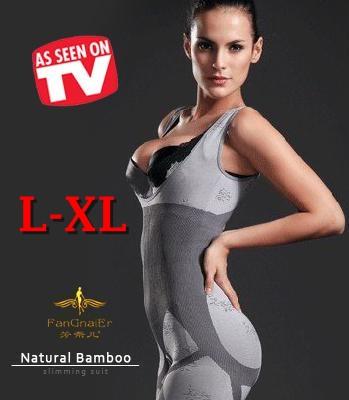 L-XL ชุดกระชับสัดส่วน Bamboo Slimming Suits อกชิด เอวคอด เซ็กซี่ทันที