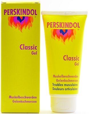 Perskindol Classic Gel (สูตรร้อน) 100 mL