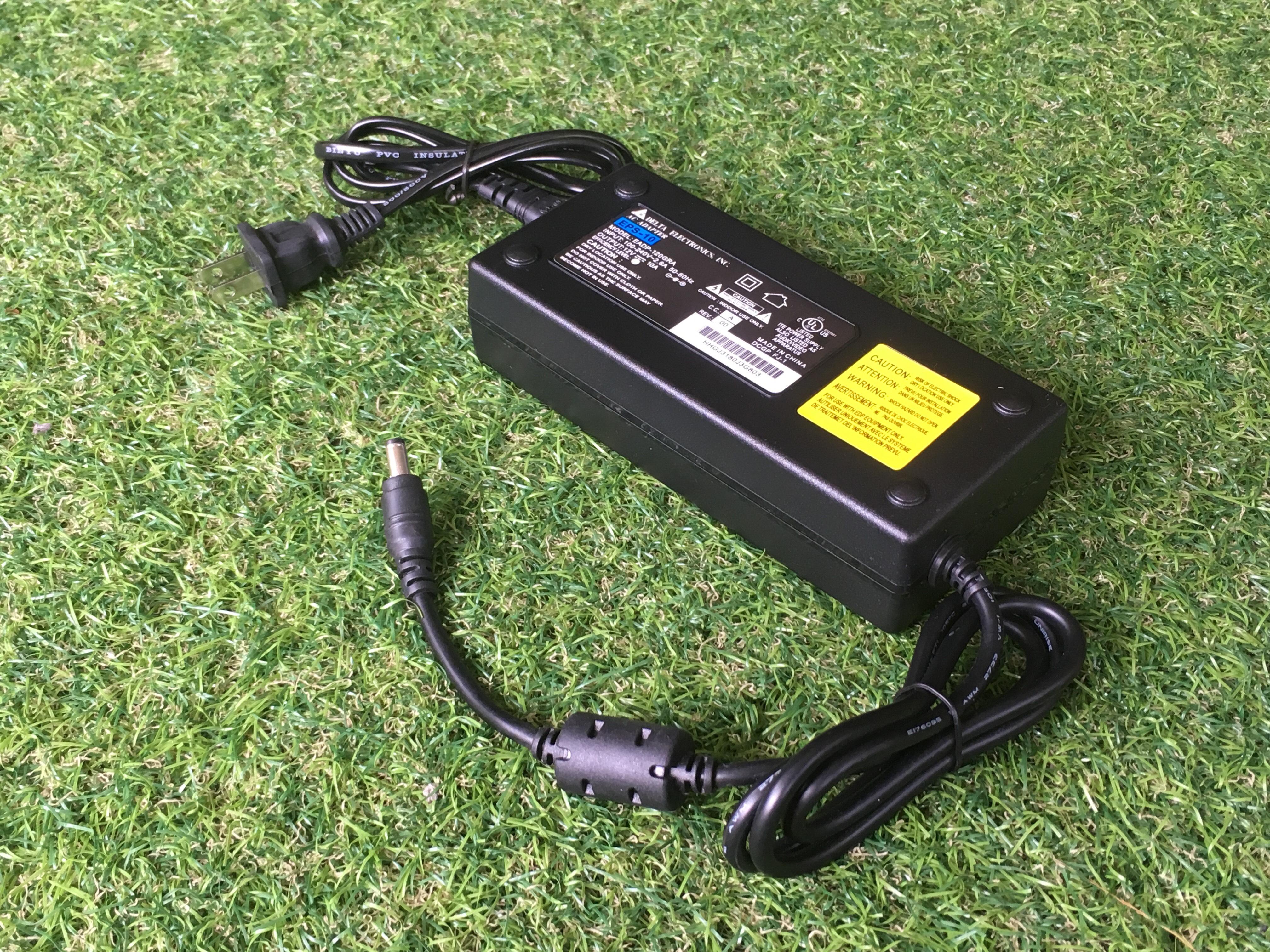 Adapter 12VDC 10A 5.5 mm. x 2.5 mm. รุ่น EADP-120GRA