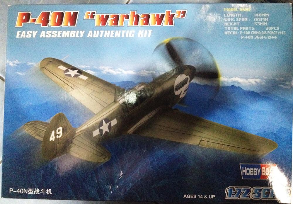 1/72 P-40N Warhawk