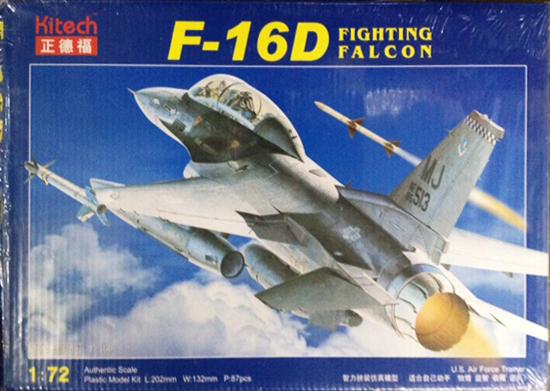 1/72 F-16D
