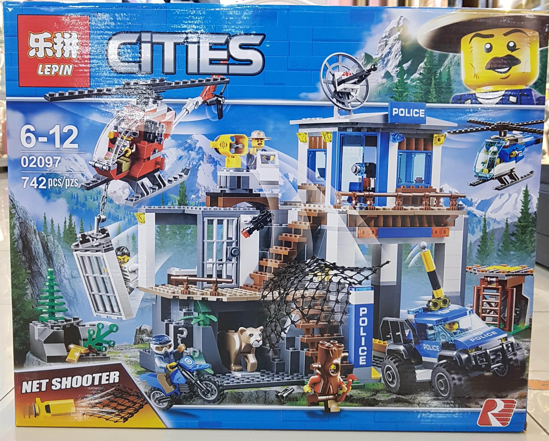 LEPIN CITIES 02097 [742ชิ้น]