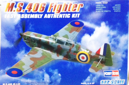 1/72 MS 406 Fighter
