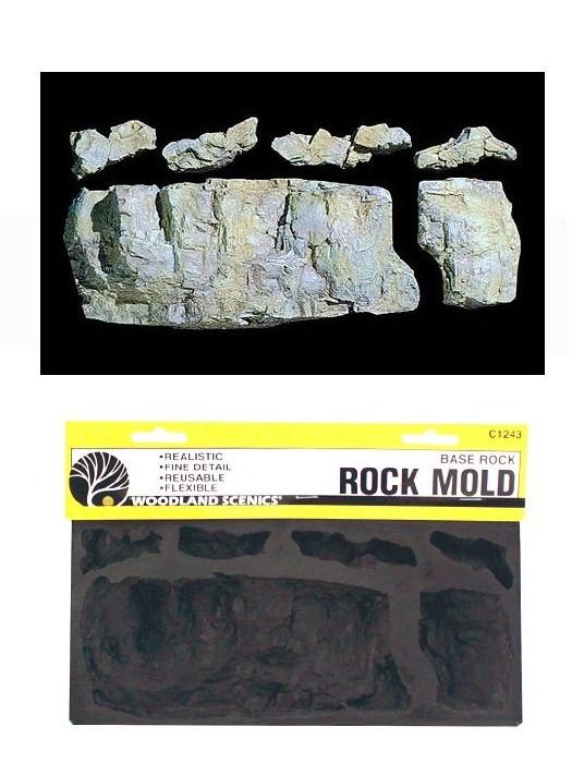 C1243 แม่พิมพ์หินเทียม สำหรับหล่อแบบภูเขา ROCK MOLD-BASE ROCK