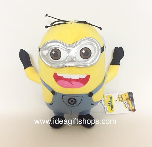 ตุ๊กตา มินเนี่ยน Minion Despicable Me ขนาด 8 นิ้ว (สองตา) ลิขสิทธิ์แท้