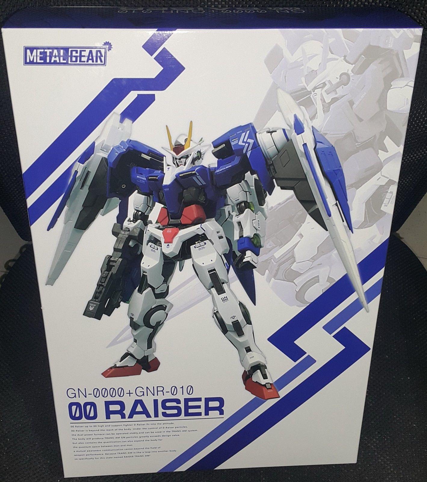 MC Metal Gear Metal build MB 00 Raiser GN-0000 + GNR-010 Gundam