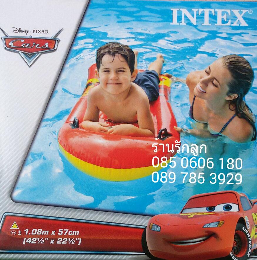 แพรเป่าลมของเด็ก ลาย Cars ของ Intex