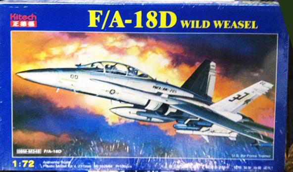1/72 F A-18D WILD WEASEL