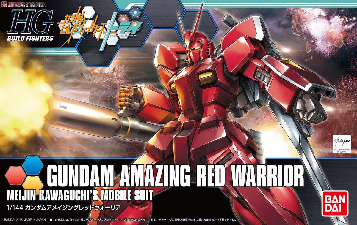 Gundam Amazing Red Warrior (HGBF)