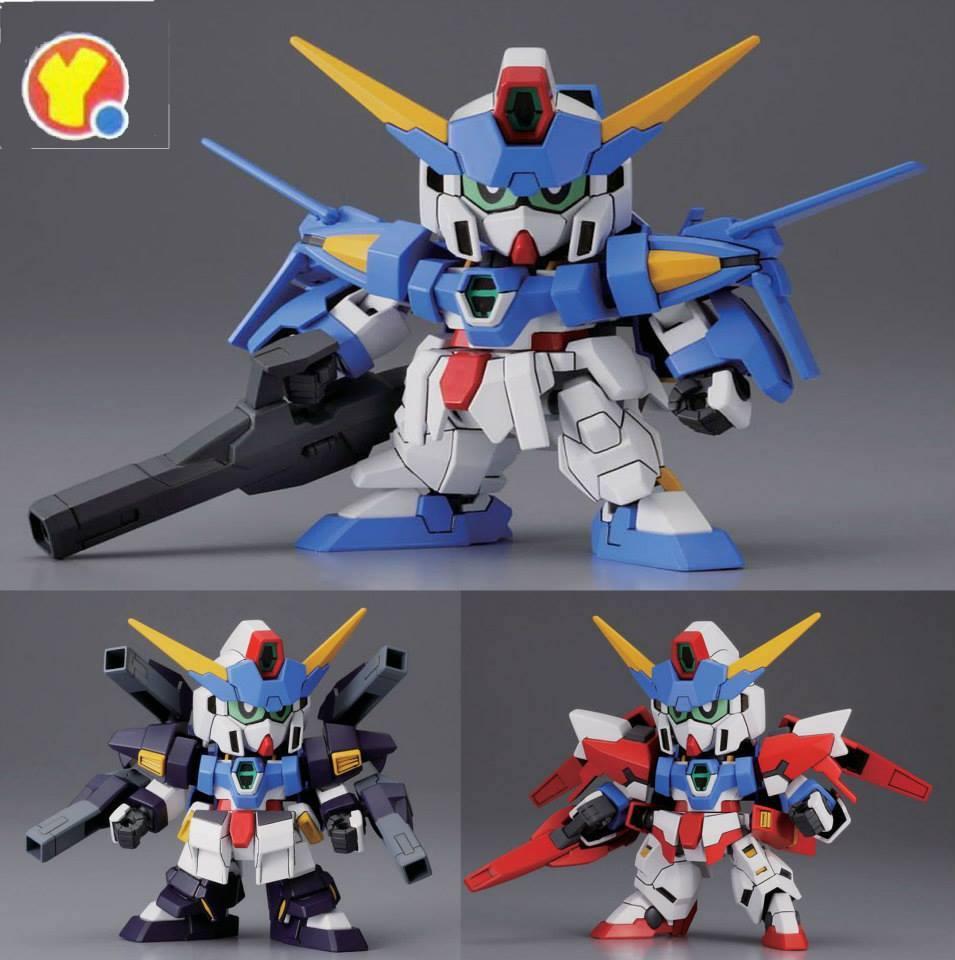 SD Gundam Age-3 (Normal, Fortress ,Orbital)