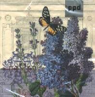 กระดาษแนปกิ้น เดคูพาจ 7733 butterfly and flower