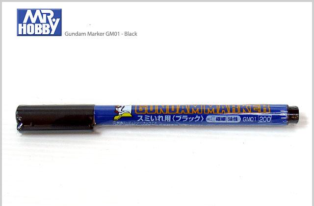 GUNDAM MARKER GM01 (Black ดำ)