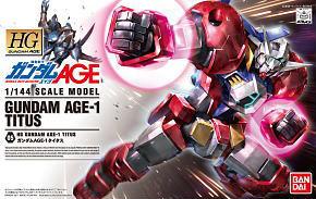 Gundam AGE-1 Titus (HG)