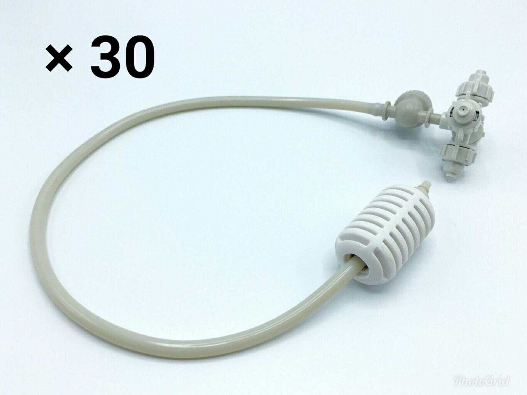 หัวพ่นหมอก 4 ทางเนต้าฟิล์ม 0.6 mm. 30 ชุด ( ชุดละ 90 บาท )