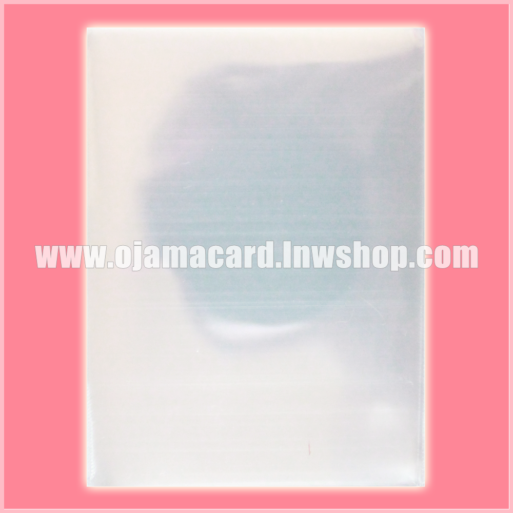 Premium Standard Size Card Protector / Sleeve - Clear 200g. (~380ct.)