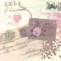 แนพกิ้น Lovely Stamp 211357
