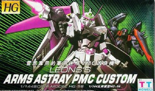HG SEED (56) 1/144 Arms Astray PMS Custom