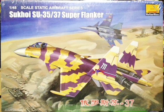 1/48 Sukhoi SU-35 37 Super Flanker