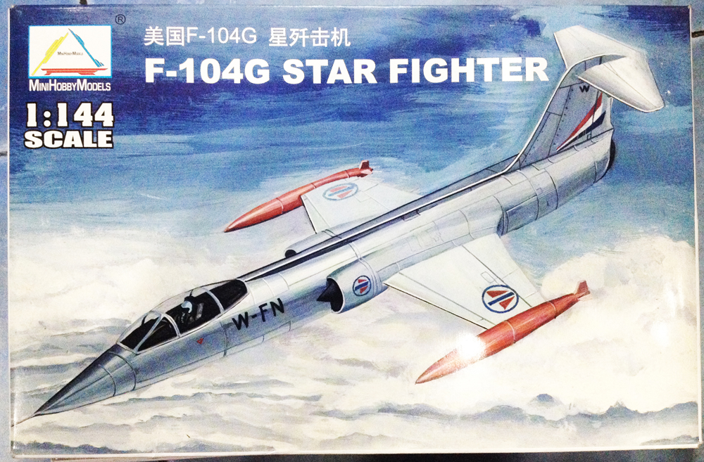 1/144 F-104G Star Fighter