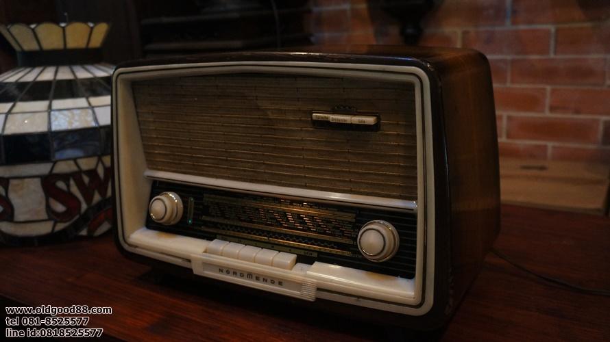 วิทยุหลอดnordmende ปี 1960 รหัส16761nd