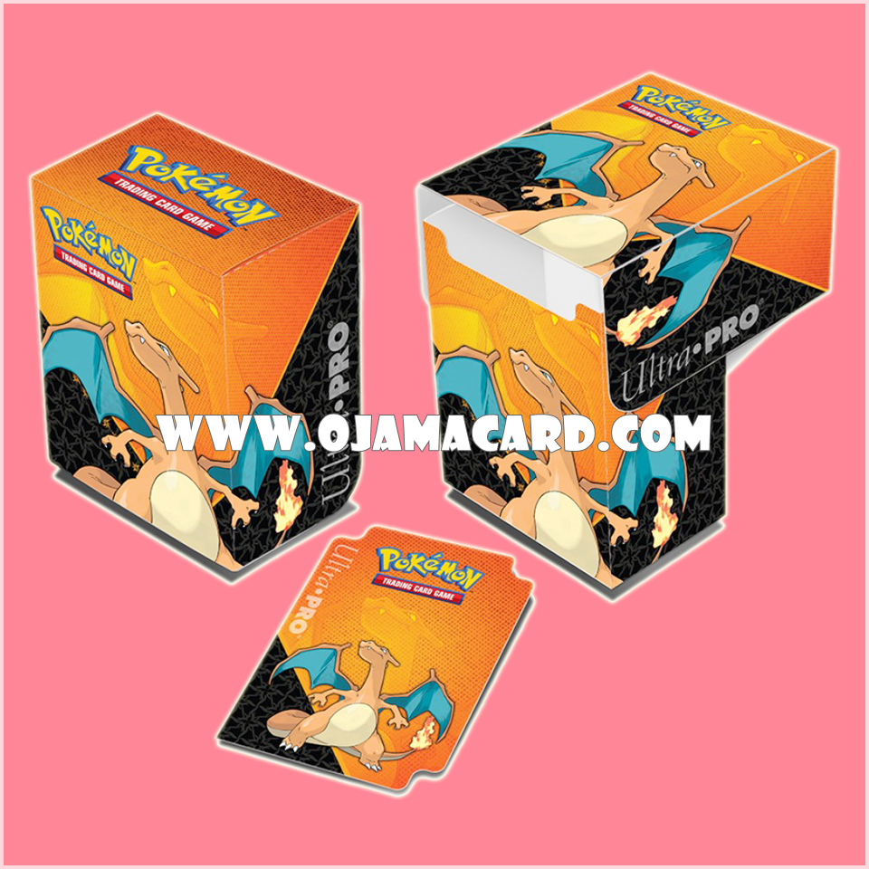 Ultra•Pro Pokémon Charizard Full-View Deck Box
