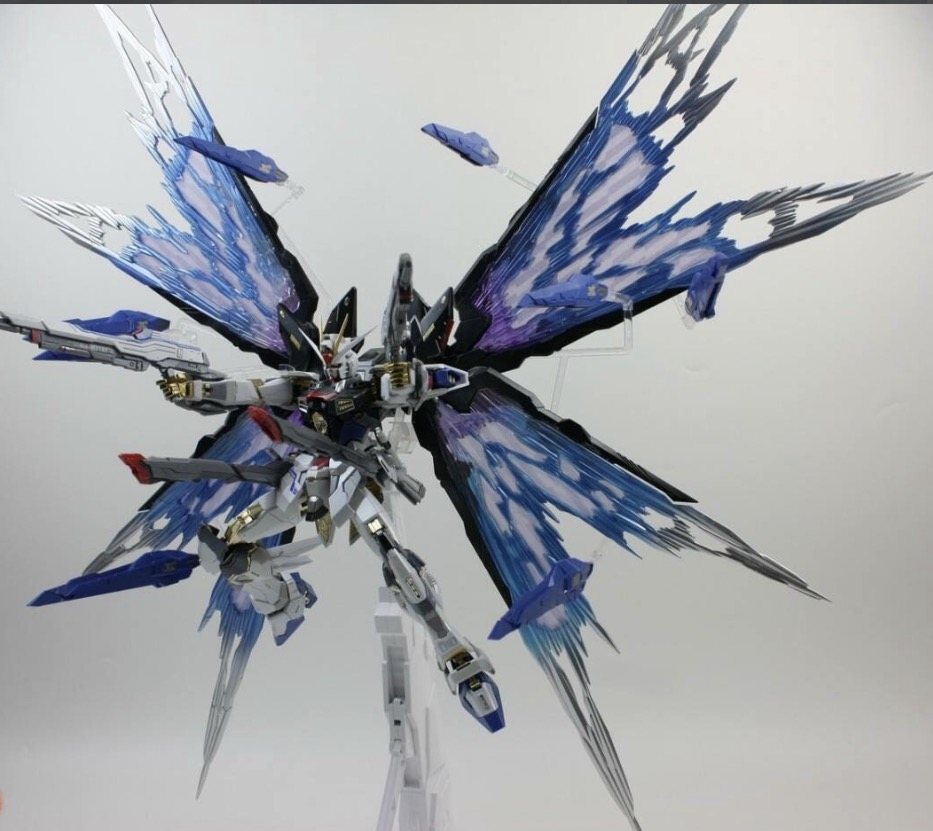 [ZGFM-X20A] MG 1/100 Strike Freedom Ver.MB + Wing of light parts [Daban]