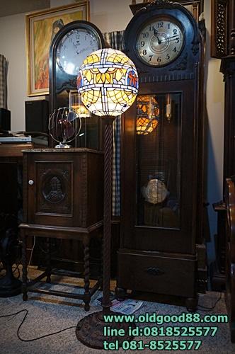 โคมไฟตั้งพื้น stainglass usa รหัส4860st
