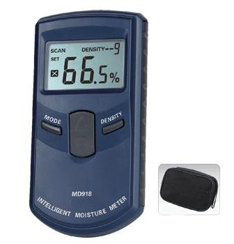 MM06-เครื่องวัดความชื้นไม้ แบบสัมผัสผิว ไม่ต้องต้องเจาะเนื้อไม้ 4-80% (Inductive Wood Moisture Meter MD-918)