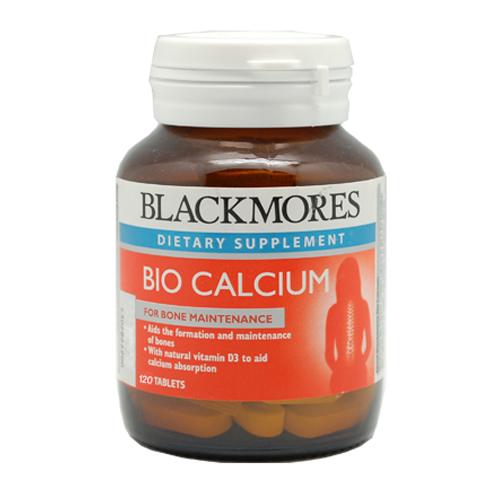 Blackmores Calcium แบลคมอร์ส แคลเซี่ยม บรรจุ 120 เม็ด