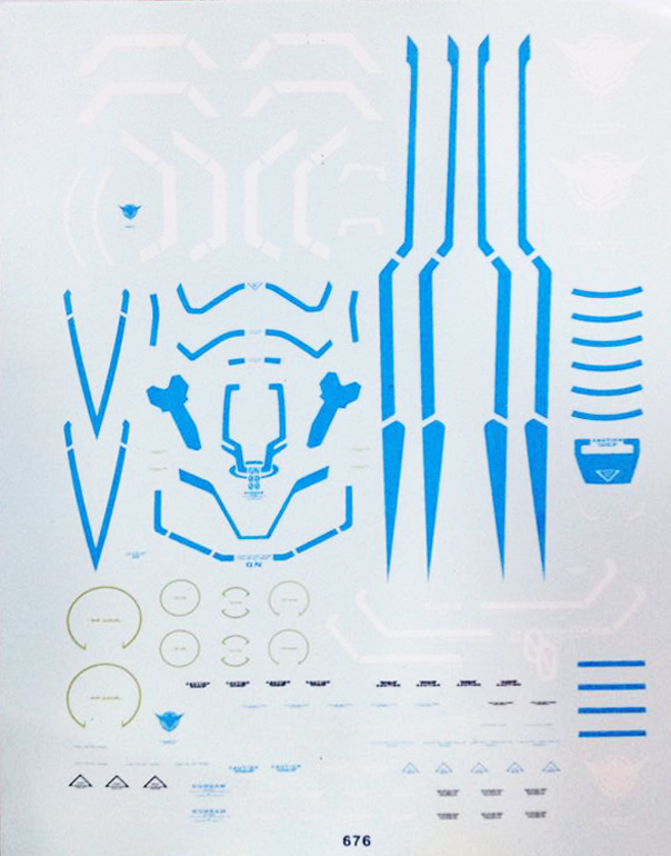 Decal MG OO Raiser