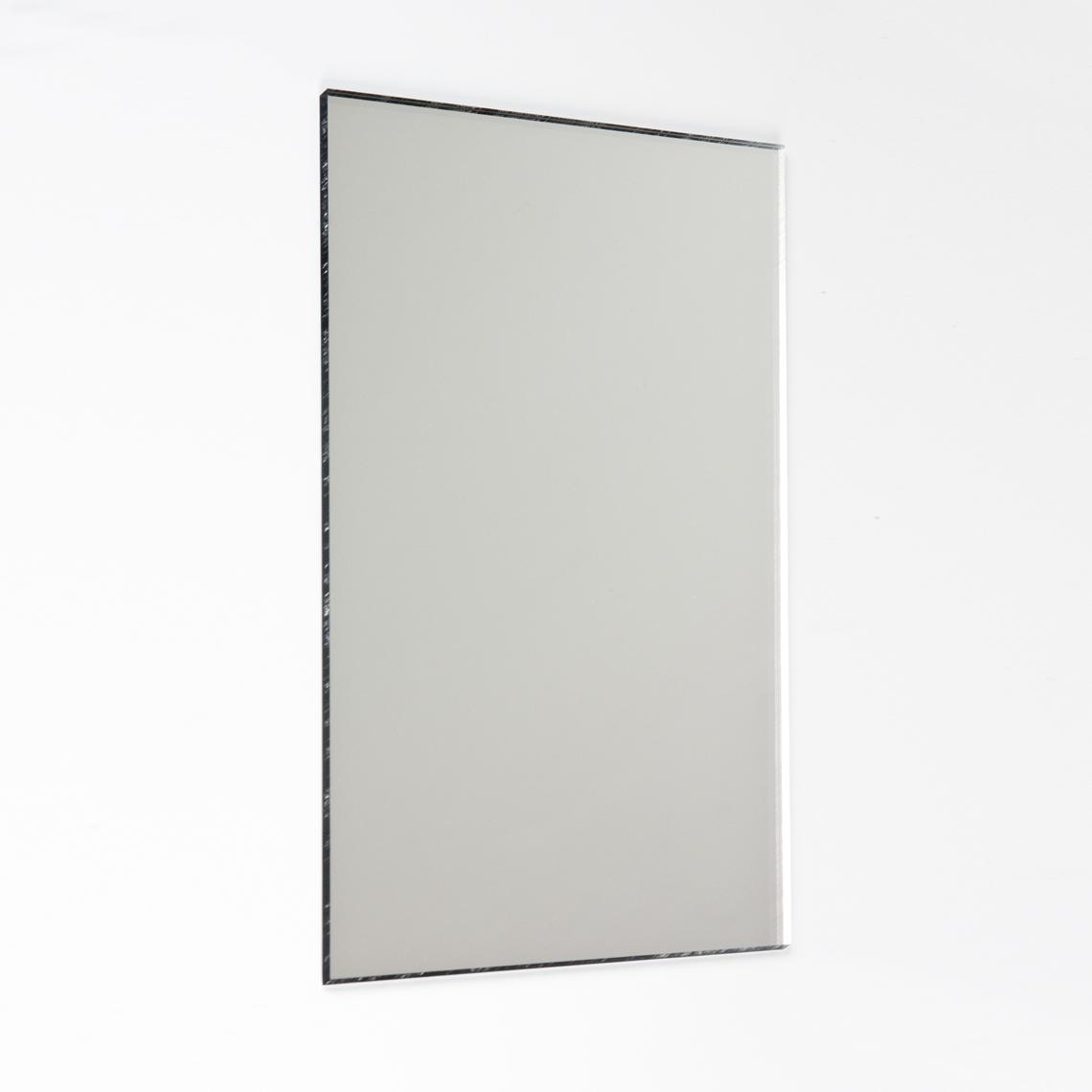 กระจกอะครีลิค ติดผนัง รูปสี่เหลี่ยม 60x40cm. (10 ชิ้น)