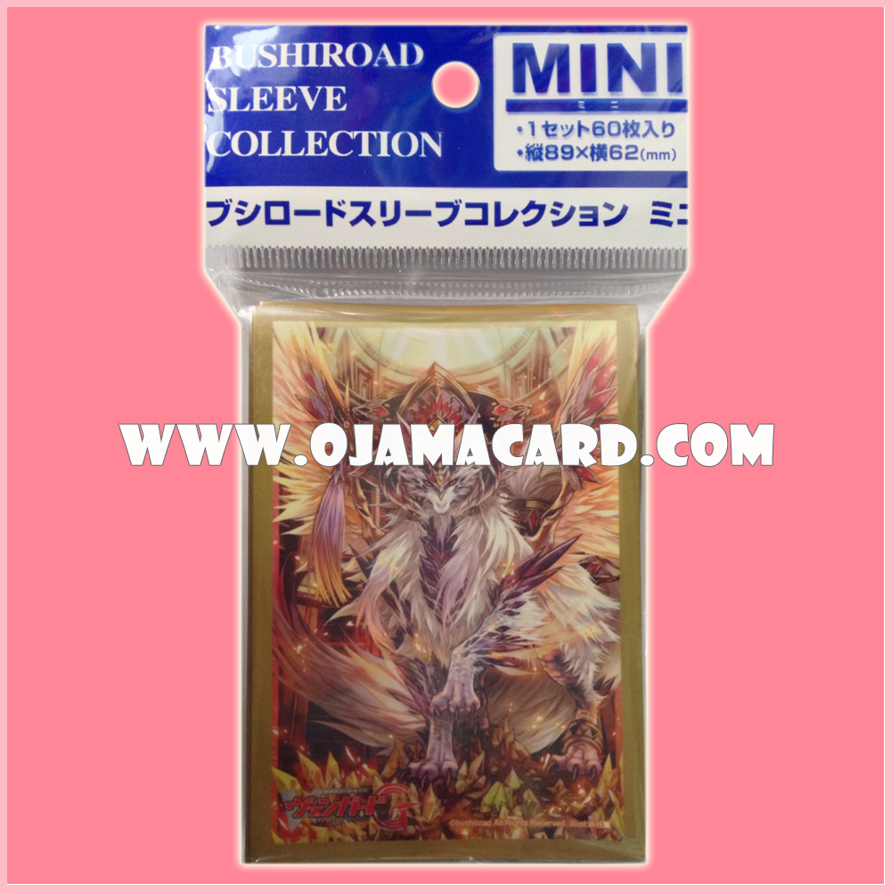 Bushiroad Collection Mini Deck Protector / Sleeve - Vol.142 : Omniscience Dragon, Managarmr x60