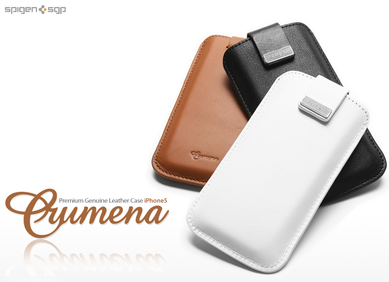 SPIGEN SGP Leather Pouch Case Crumena Series for Apple iPhone 5