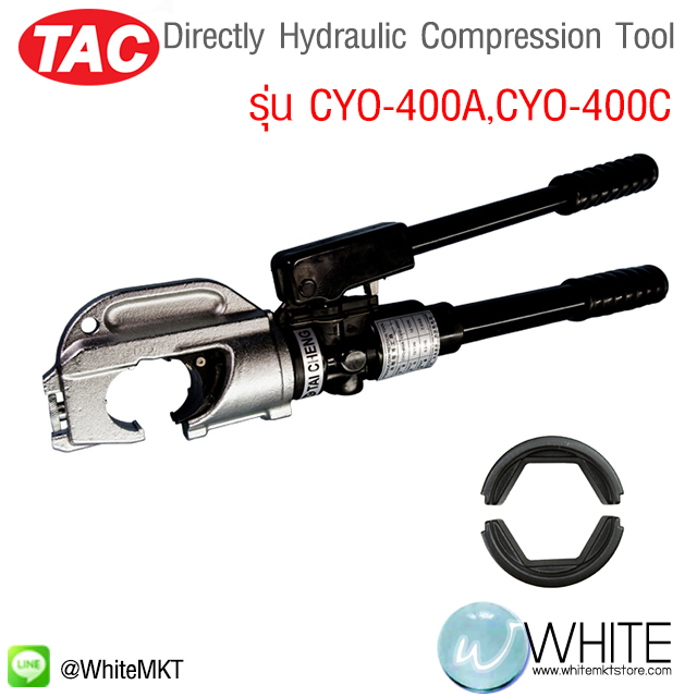 Directly Hydraulic Compression Tool รุ่น CYO-400A,CYO-400C ยี่ห้อ TAC (CHI)