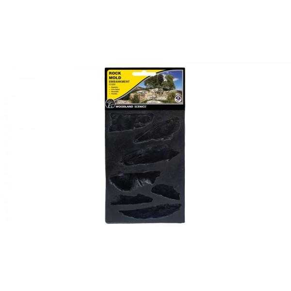 C1233 แม่พิมพ์หินเทียม สำหรับหล่อแบบภูเขา ROCK MOLD-EMBANKMENTS