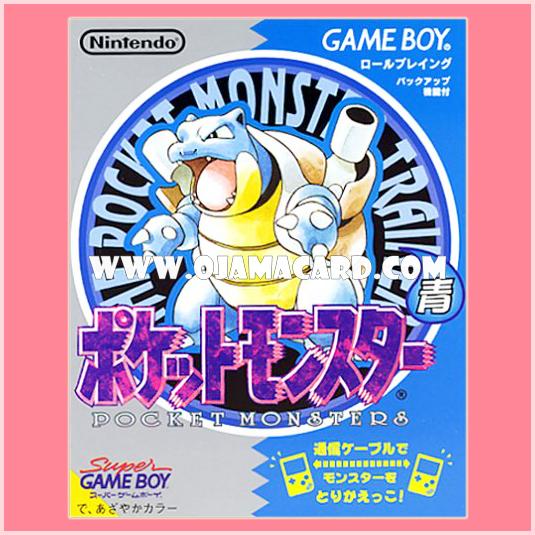 Pokémon Blue Version for Nintendo Game Boy (JP)