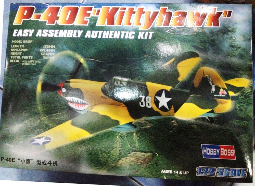 1/72 P-40E Kittyhawk