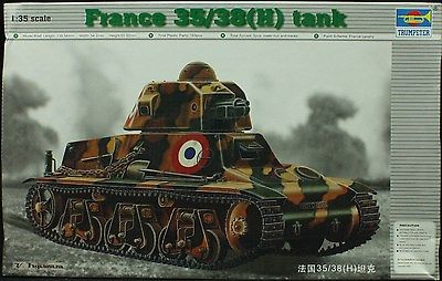 1/35 France 35/38(H) Tank [Trumpeter]