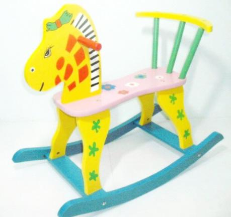 ม้าไม้โยกเยก ของเล่นเด็ก